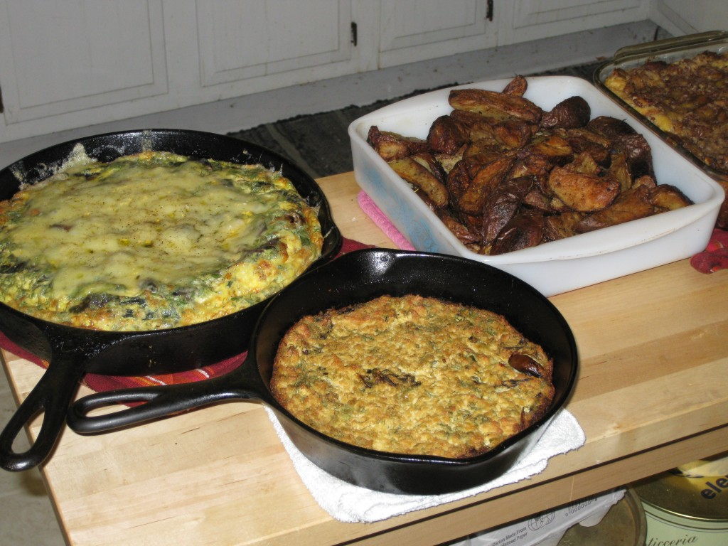 Frittatas with Whiskey Potatoes